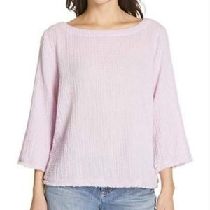 NWT Eileen Fisher Organic Cotton Lofty Gauze Top